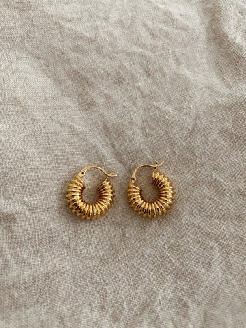 Lori Hoop Luxe Earrings