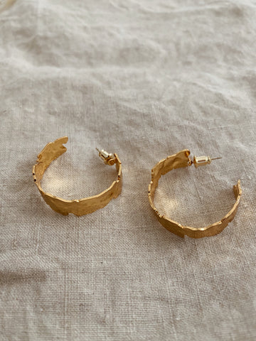 Cameron Hoop Luxe Earrings
