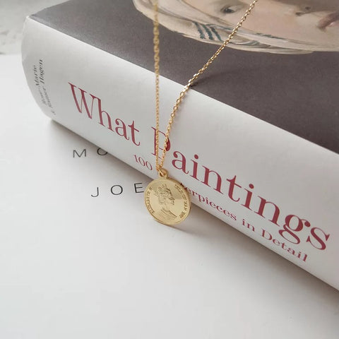 Elizabeth Isle Coin Necklace