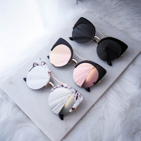 Kosovo Cat Eye Sunglasses - HELLO PARRY Australian Fashion Label