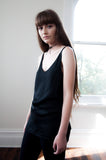 PRE ORDER Louise Silky Black Cami Available in 15 July - HELLO PARRY Australian Fashion Label