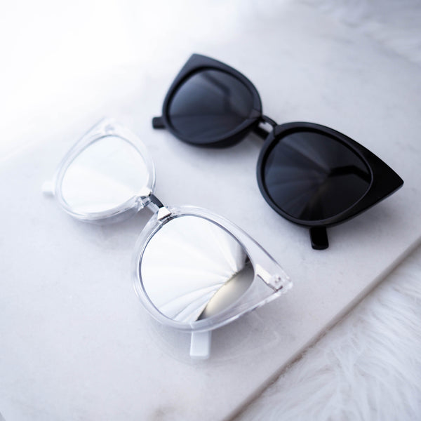 Malta Cat Eye Sunglasses - HELLO PARRY Australian Fashion Label
