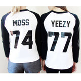 74 MOSS Raglan Sleeve Tee - HELLO PARRY Australian Fashion Label
