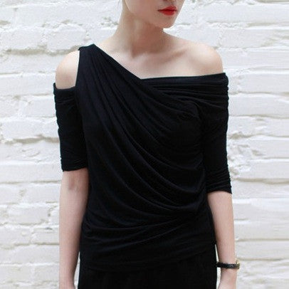 Lori Multiform Black Top - HELLO PARRY Australian Fashion Label