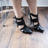 Miranda Pointy Heels -BLACK