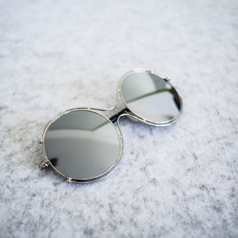 Bolivia Round Mirrored Sunglasses - HELLO PARRY Australian Fashion Label