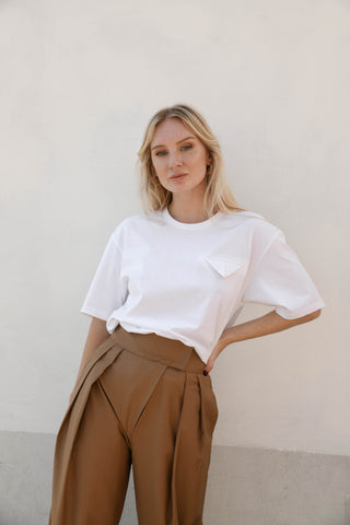 Sasha Pocket Boyfriend Tee