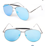 Mexico Mirror Aviator Sunglasses