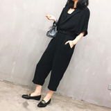 Abbey Silky Two Piece Jumpsuit - HELLO PARRY Australian Fashion Label
