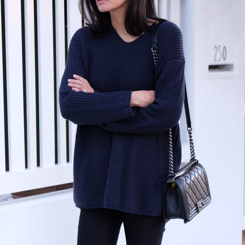 Sienna Ribbed Knit Sweater