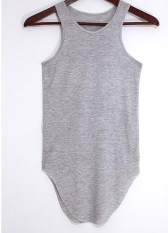 Basic Scoop Neck Jersey Tank