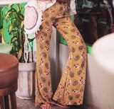 Abella Bell Bottom Pants - Honey - HELLO PARRY Australian Fashion Label
