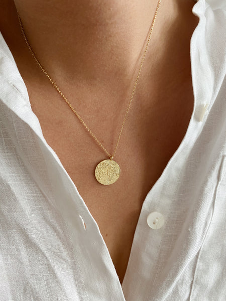 Wanderlust Coin Necklace