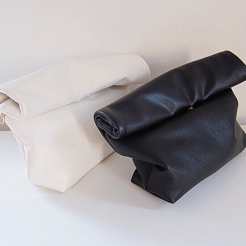 Ellie Roll Up Lunch bag Clutch - HELLO PARRY Australian Fashion Label
