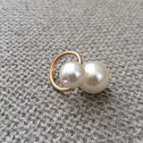 Pia Double Pearl Ring