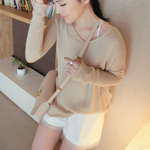 Imogen Relaxed Nude Knit