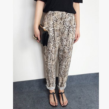 Tyra Snakeprint Pants