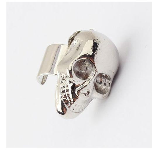 Punk Skull Ear Cuff - HELLO PARRY Australian Fashion Label