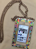 The Raiders Holographic Phone Chain Bag