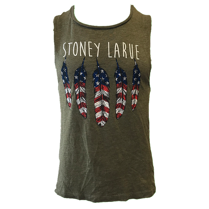 American Feathers Sleeveless T-Shirt