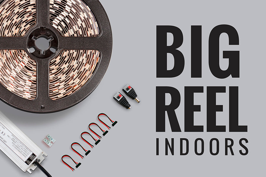 Kit de iluminación LED decorativo Big Reel 25mt para Interiores