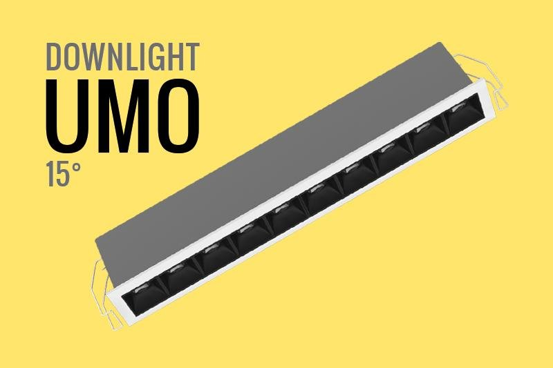 DOWNLIGHT LED DE DISEÑO 15° BLANCO CALIDO