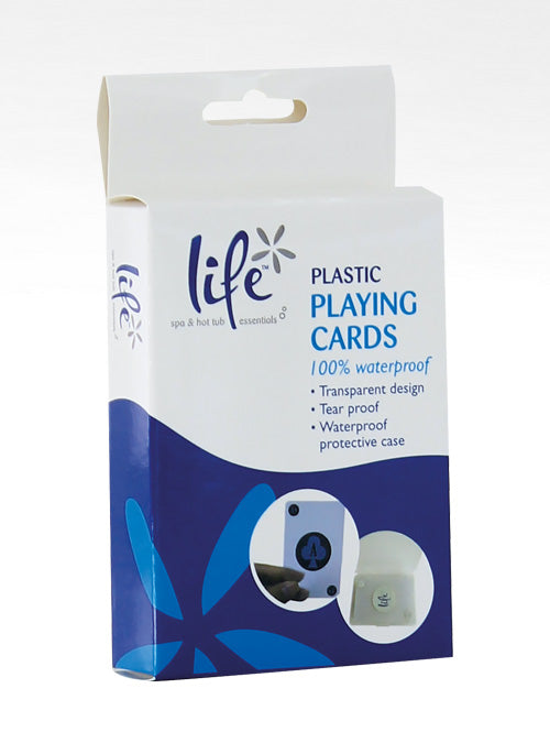 Spa & Hot Tub Waterproof Playing Cards