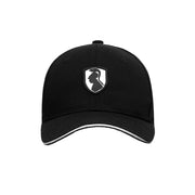 VHNY Logo Cotton Ball Cap - Black