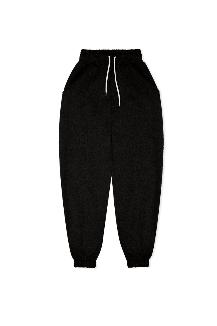 BLACK ESSENTIAL SWEATPANTS - VHNY