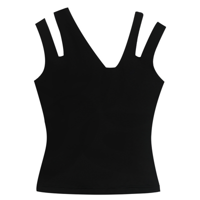 ASYMMETRICAL RIBBED TANK - VHNY