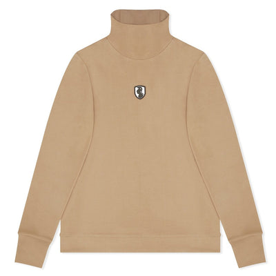 SAND TURTLENECK LONG SLEEVE T-SHIRT