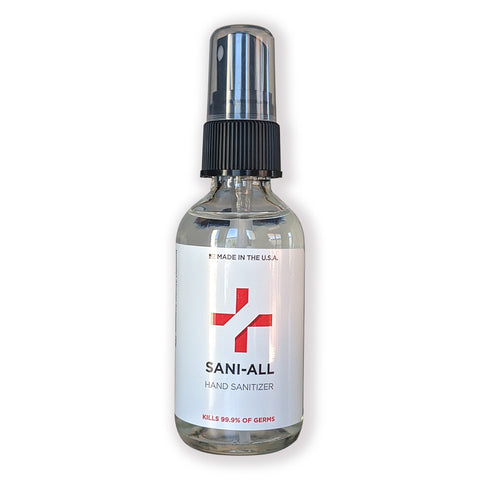 Sani-All Hand Sanitizer Spray, 2 fl oz - Wholesale - National PPE LLC
