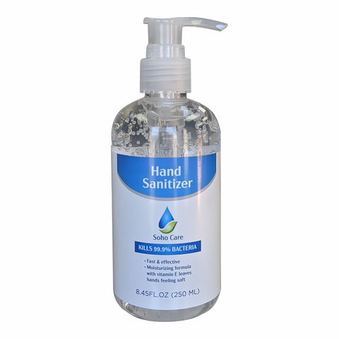 SoHo Care Hand Sanitizer, 8.45 fl oz - Wholesale - National PPE LLC