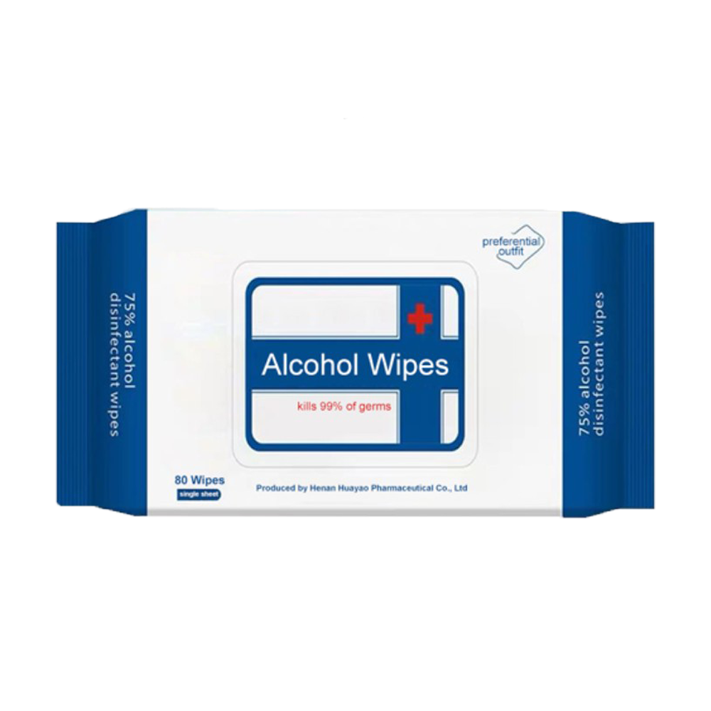 75% Alcohol Wipes, 80-pack - Wholesale - National PPE LLC