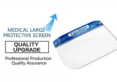 Clear Protective Face Shield - Wholesale - National PPE LLC