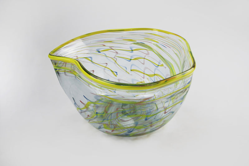 Large Wave Bowl - Happiness Series