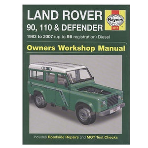 Workshop Manual Haynes Defender Pre 2007 BA3089