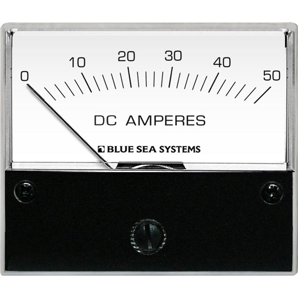 Blue Sea 8022 DC Analog Ammeter - 2-3/4 Face, 0-50 AMP DC [8022]