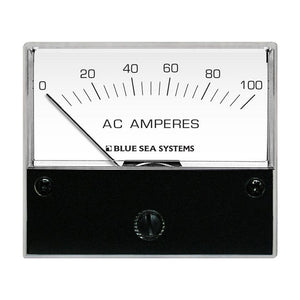 "Blue Sea 8258 AC Analog Ammeter - 2-3/4"" Face, 0-100 Amperes AC [8258]"