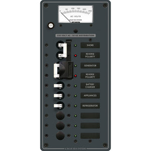 Blue Sea 8589 AC Toggle Source Selector (230V) - 2 Sources + 6 Positions [8589]