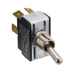 Paneltronics DPDT (ON)/OFF/(ON) Metal Bat Toggle Switch - Momentary Configuration [001-014]