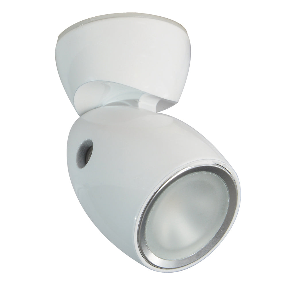 Lumitec GAI2 - General Area Illumination2 Light - White Finish - 3-Color Red/Blue Non-Dimming w/White Dimming [111828]