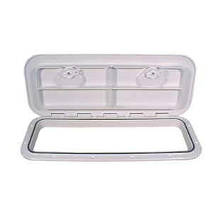 "Beckson 10x24"" Flush Hatch Horizontal or Vertical - White [HT1024-W]"