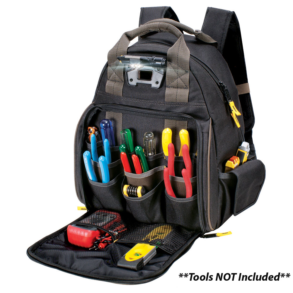 CLC L255 53 Pocket Tech Gear Lighted Backpack [L255]