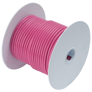 Ancor Pink 18 AWG Tinned Copper Wire - 100' [100610]