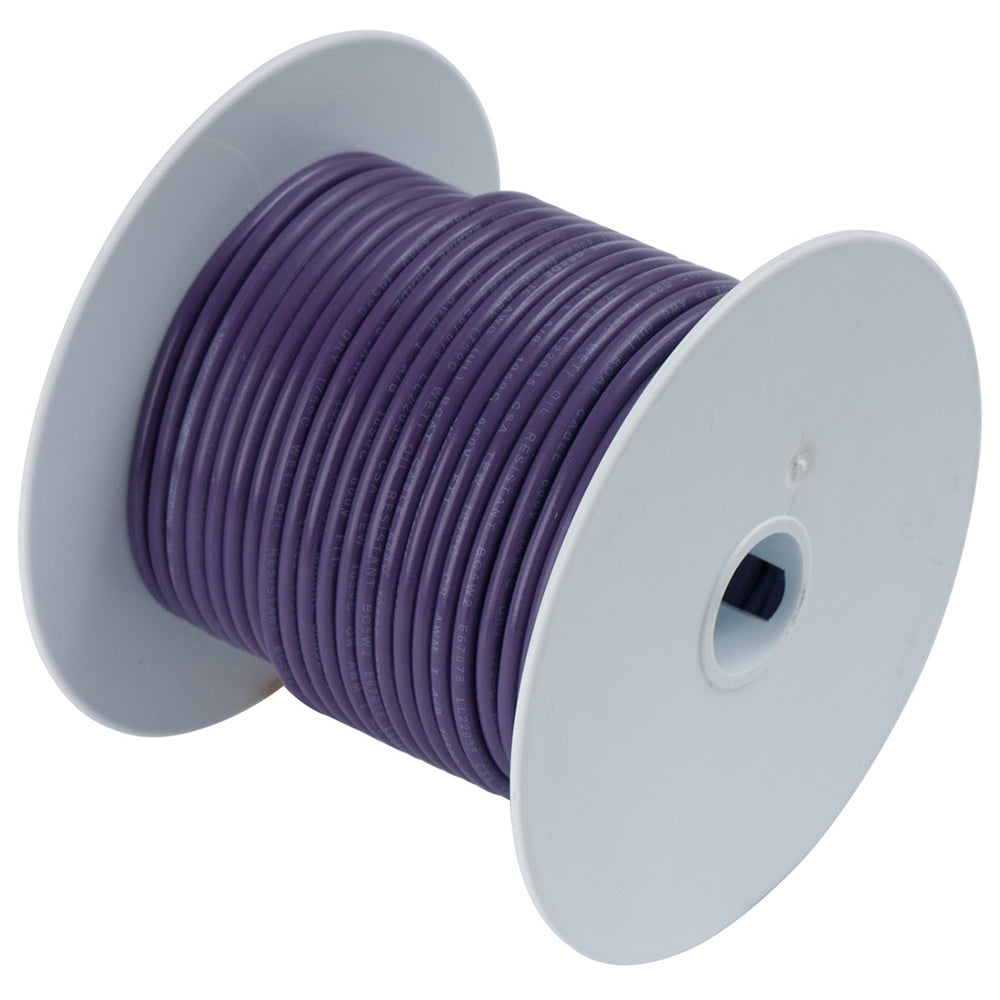 Ancor Purple 14 AWG Tinned Copper Wire - 18' [184703]