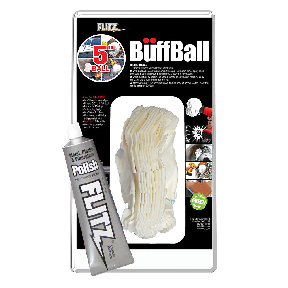 Flitz Buff Ball - Large 5