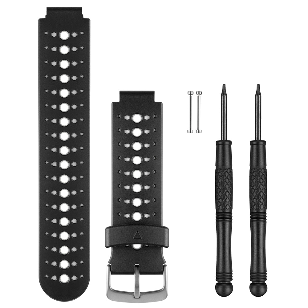 Garmin Replacement Watch Bands - White & Black [010-11251-82]
