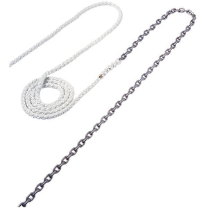 "Maxwell Anchor Rode - 15-1/4"" Chain to 150-1/2"" Nylon Brait [RODE38]"