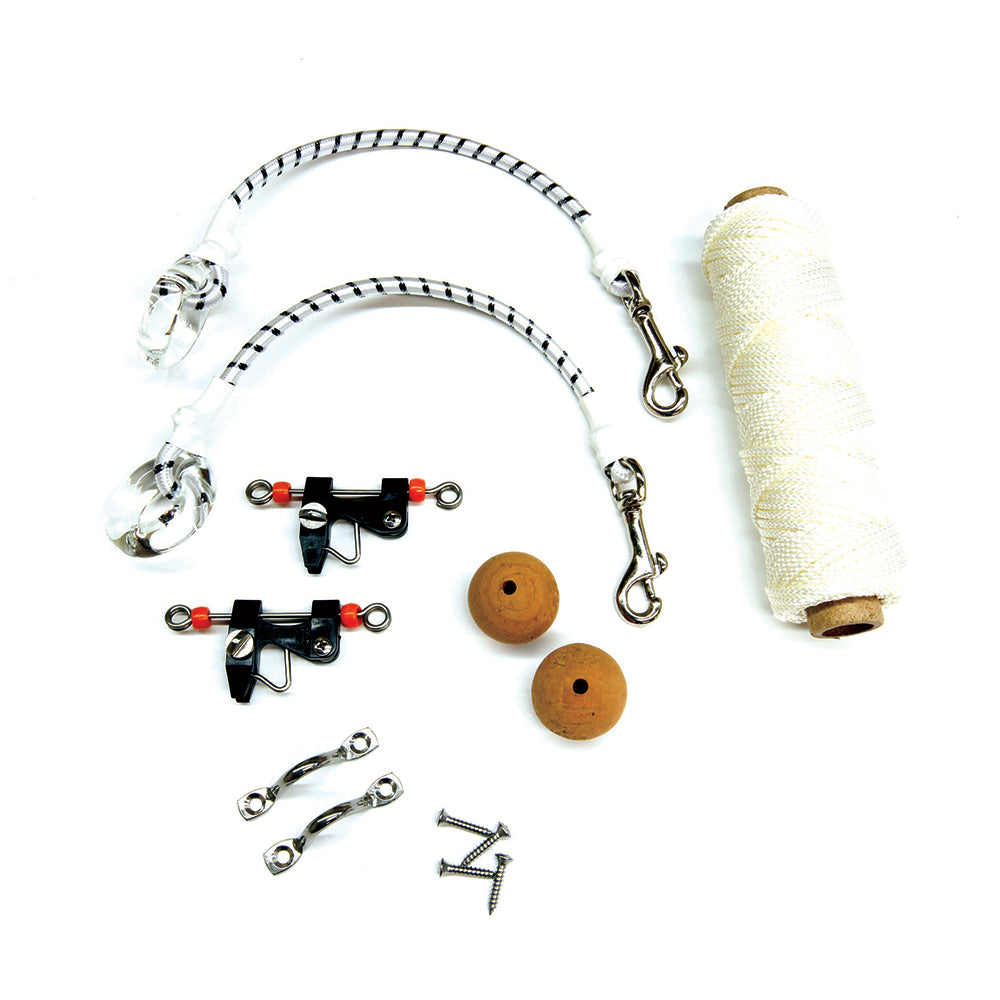 Tigress Economy Rigging Kit - White Nylon [88600]